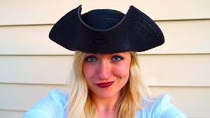 how to make a pirate hat youtube