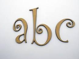 5cm large wooden letter words wood letters alphabet name wedding