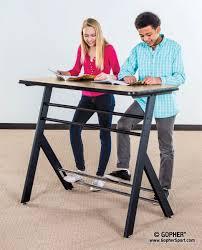 best desks for students student standing desk yze gopher sport onsingularity com