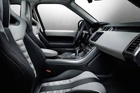 White Range Rover With Red Interior Introducing The 2015 Range Rover Sport Svr Land Rover Usa