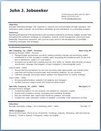 Doc 12751650 Marketing Assistant Resume Sample Template by Free Microsoft Resume Templates 2011 Doc 12751650 Free Printable