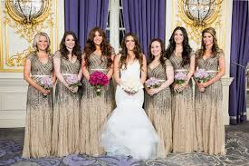 papell bridesmaid dress new york city wedding at the st regis the nellie abe story