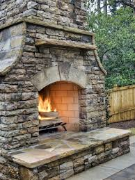 beautiful pics of how to build an outdoor fireplace with cinder