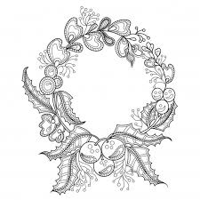 black and white ornaments collection vector free