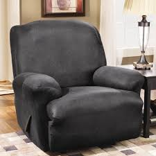 Slipcover For Reclining Sofa by Sure Fit Stretch Leather T Cushion Recliner Slipcover U0026 Reviews