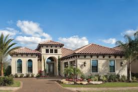 mediterranean home builders musket brown with pool exterior mediterranean and traditional