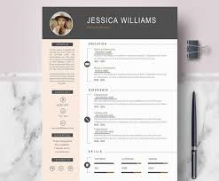 resume templates modern 50 eye catching cv templates for ms word free to