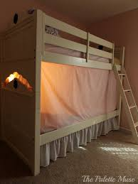 the privacy bed tent newest invention for a good night s sleep simple no sew bunk bed tent the palette muse