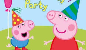 peppa pig birthday peppa pig my birthday party dvd parents magazine