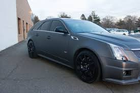 2011 cadillac cts v sport wagon sale sell used 2012 cadillac cts v sport wagon matte charcoal in lake