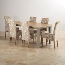 Painted Oak Dining Table And Chairs St Ives Grey Furniture For Every Room Oak Furniture Land