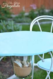 Diy Bistro Table Diy Bistro Set From Candle Holder To Table The Interior