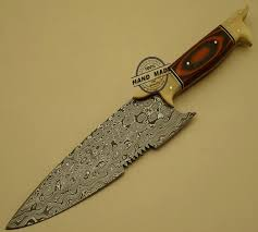damascus kitchen chef u0027s knife custom handmade damascus steel chef