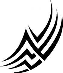 tribal lines design vector free