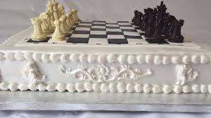 classic chess board cake with edible chocolate pieces youtube