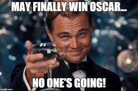 Leonardo Dicaprio No Oscar Meme - leonardo dicaprio cheers meme imgflip