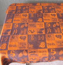 halloween tablecloths