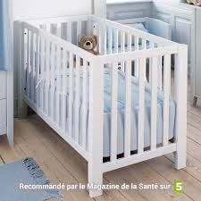 chambre bébé pin massif lit bébé banquette bois massif 60x120 andrblcm01