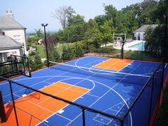 Basketball Court In Backyard Cost by Sport Court Cost With Awesome Basketball Outdoor Sport Court Tile