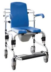 Shower Chairs With Wheels Shower U0026 Commode Combination Chairs Platinum Health Group