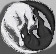 ying yang wolves by teentitansgo123 on deviantart