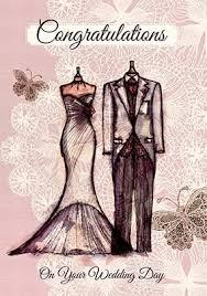 Congratulations Wedding Card Wedding Cards Art Cards Funky Pigeon