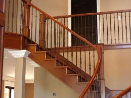 interior wood stair railing railings and components design ideas
