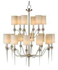 large foyer entryway wrought iron chandelier 50 inches tall with shown in contemporary silver leaf finish and off white linen shade nice large chandeliers for