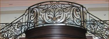 chicago wrought iron staircase railings indoor exterior balusters