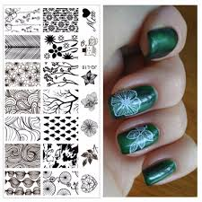online get cheap nail art stamping image plates aliexpress com