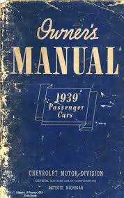old chevy owner u0027s manuals