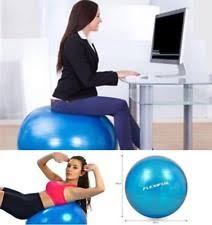 Balance Ball Chair With Arms Exercise Ball Chair With Arms Gym Fitness Workout Posture Balance