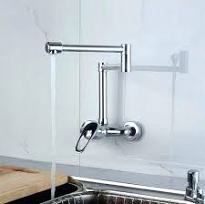 wall mount faucet kitchen wall mount faucet lowes sowingwellness co