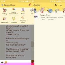 theme line jalan tikus satara shop theme line winnie the pooh harga 6rb atm10rb pulsa