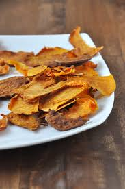 How To Cook A Sweet Potato In The Toaster Oven Baked Sweet Potato Chips Minimalist Baker Recipes