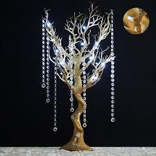 manzanita tree centerpieces glittered gold manzanita tree centerpiece for wedding party event