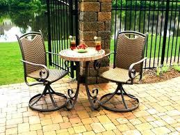 Pub Patio Furniture Bistro Table And Chairs Garden Furniture Bistro Set Wicker Lane