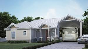 rv port home plans rv house plans small with garage pool carsontheauctions