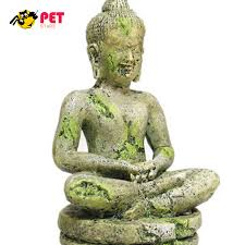 aquarium decor bayon buddha decoration ornament stones for an