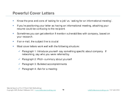 your job search promotional materials resume cover letters and pit u2026