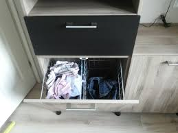 Pull Out Laundry Cabinet Besta Tilt Out Hamper Ikea Hackers Ikea Hackers