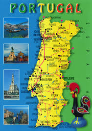 Travel Maps Large Travel Map Of Portugal Portugal Large Travel Map Vidiani