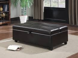 Folding Cushion Bed Ottomans Sleeper Sofa Sectional Sleeper Ottoman With Memory Foam