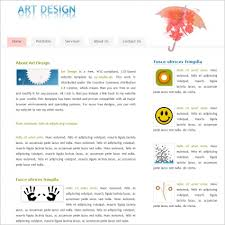 art design template free website templates in css html js format