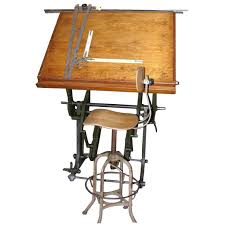 Architect Drafting Table An 19th C Architect S Drafting Table From A Unique