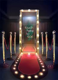 photo booth for looking for a magic mirror photo booth for corporate events we