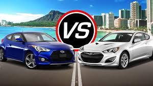 hyundai genesis coupe turbo specs 2016 hyundai veloster turbo vs genesis coupe spec comparison