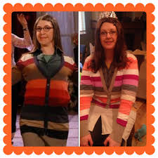 thrift shop halloween costume amy farrah fowler costume daily