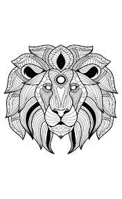 387 best coloring lion tiger images on pinterest tigers lion