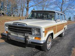 1987 jeep wagoneer rare classic jeep grand wagoneer low miles for sale in